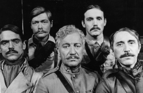 Jeremy Irons, Simon Ward, Donald Gee, Clive Francis, Barry Foster