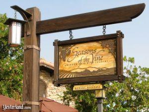 Seasons of the Vine at Disney's California Adventure