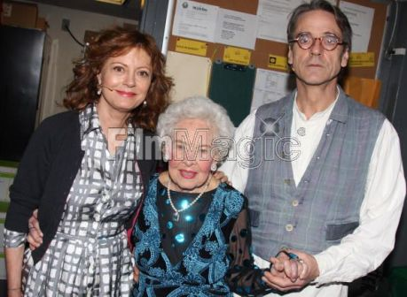Susan Sarandon, Doris Eaton Travis, Jeremy Irons
