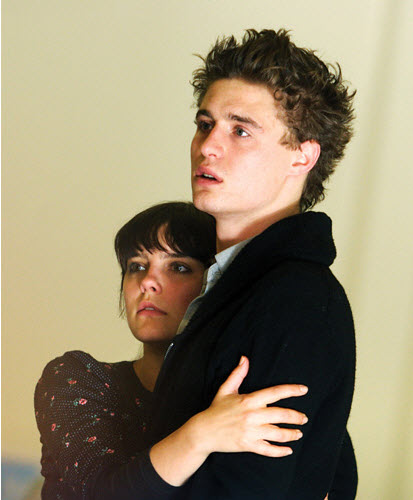 Max Irons in Wallenstein - rehearsal