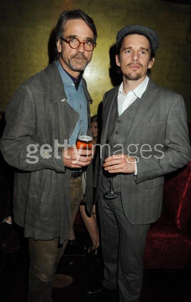 Jeremy Irons and Ethan Hawke - photo by Dave M. Bennett/Getty Images
