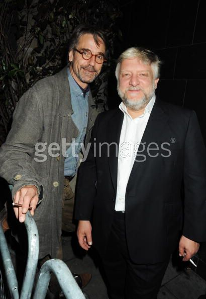 Jeremy Irons and Simon Russell Beale - photo by Dave M. Bennett/Getty Images