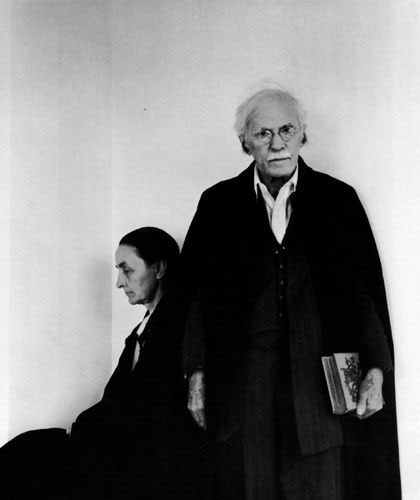 Georgia O'Keeffe and Alfred Stieglitz NY 1944