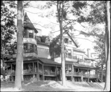 The Stieglitz family home at Lake George