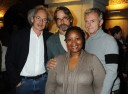 Eric Abraham, Jeremy Irons, Stephen Daldry and Pauline Malefane  - Photo by Dave M. Benett/Getty Images
