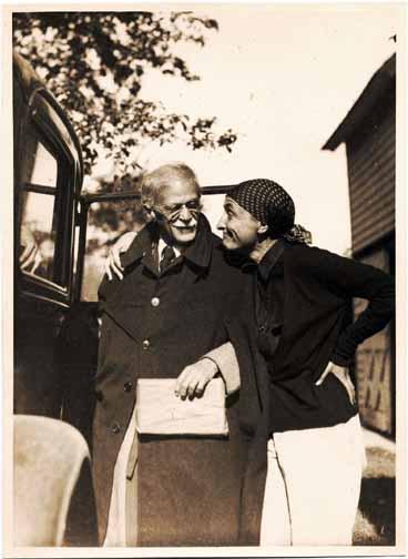 Alfred Stieglitz and Georgia O'Keeffe at Lake George