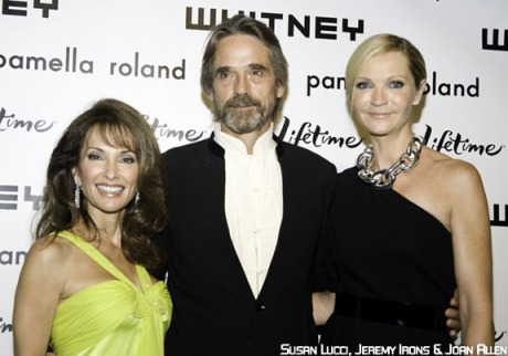 Susan Lucci, Jeremy Irons and Joan Allen