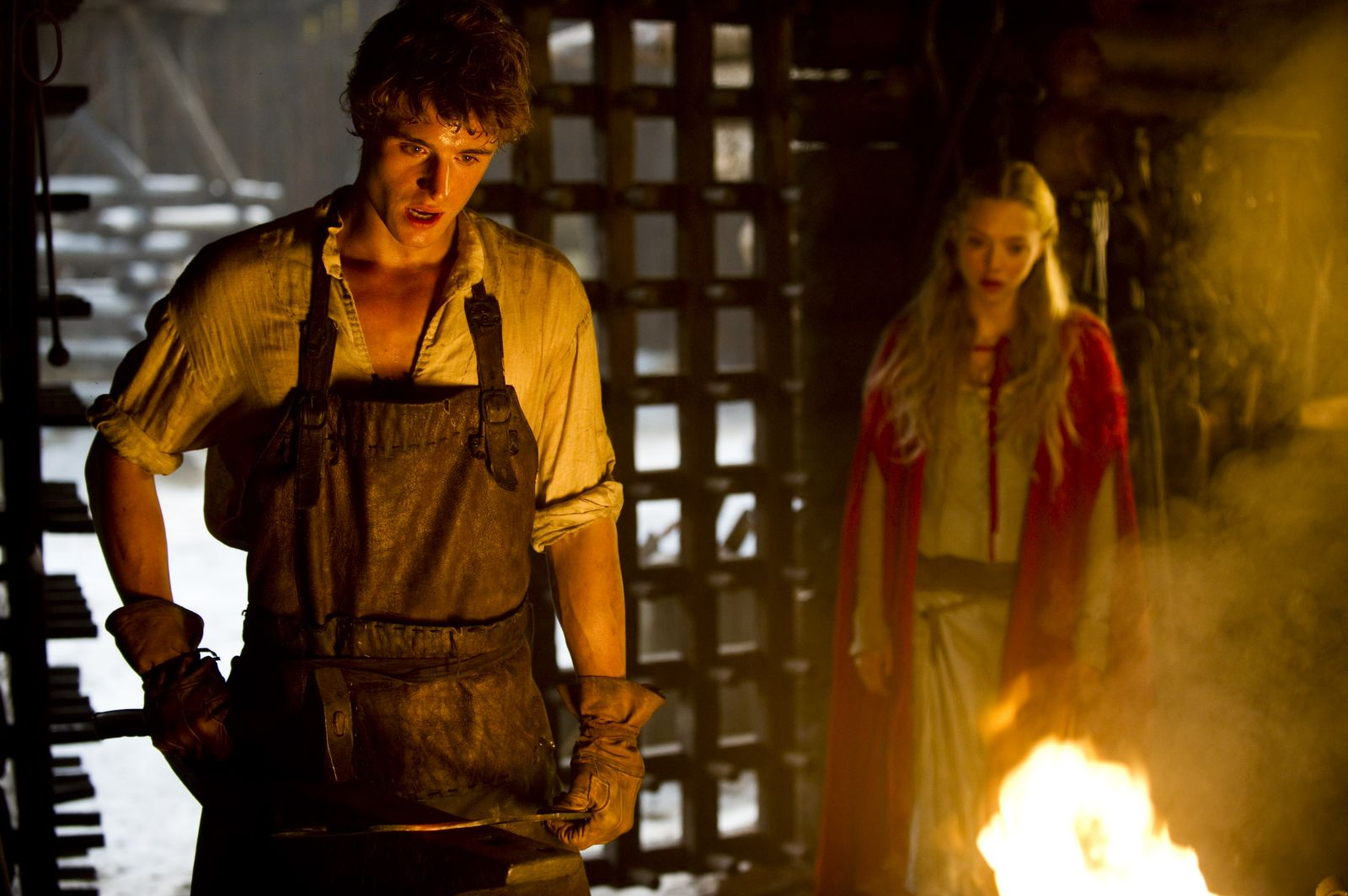 red riding hood Watch video  directed by catherine hardwicke with amanda seyfried, lukas haas, gary oldman, billy burke set in a medieval village that is haunted by a werewolf, a young girl.