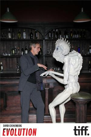 Noah Cowan ‏@noahlightbox Jeremy Irons and the mugwump share a drink and a laugh. David Cronenberg : Evolution is now officially open!