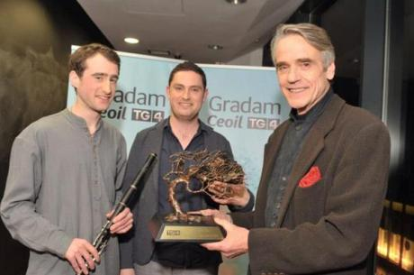 Photo via http://www.evoke.ie/events/tg4-2015-gradam-ceoil-awards/