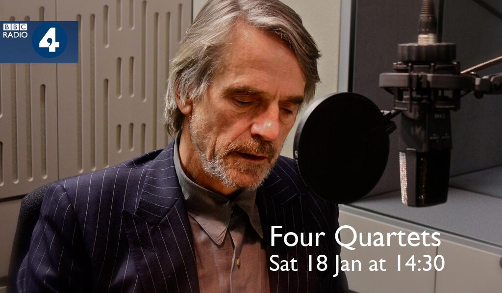 jeremy irons four quartets bbc radio 4