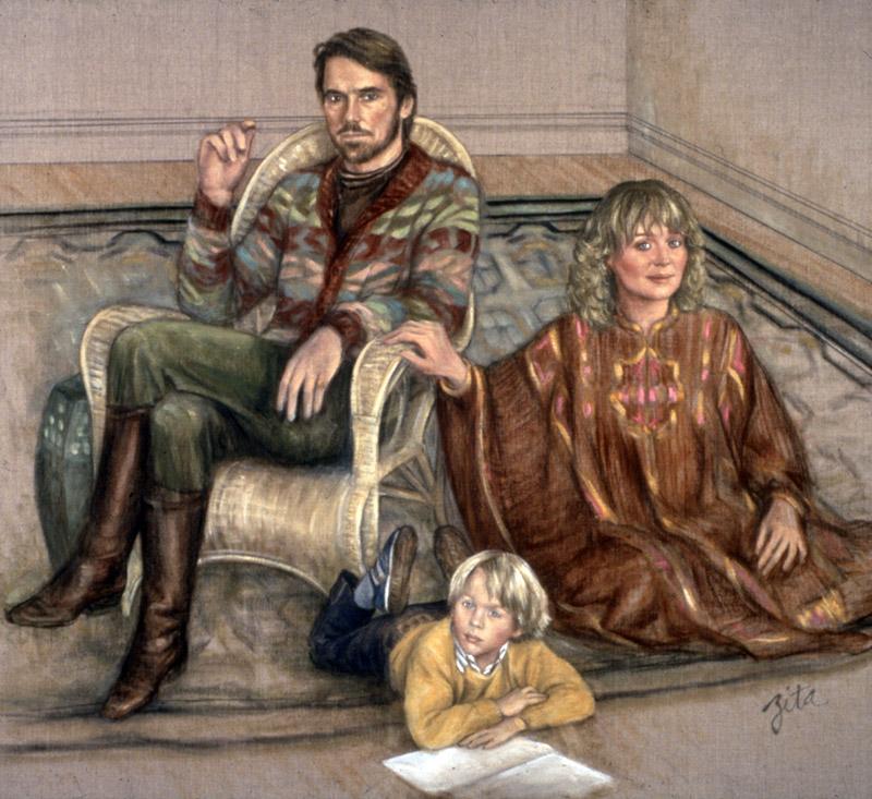 Jeremy Irons portrait ...