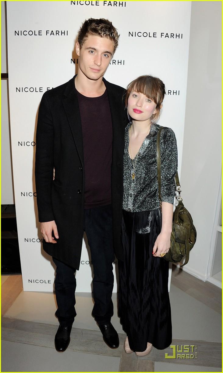 Max Irons at Nicole Fa...