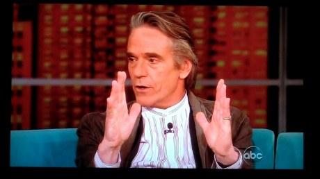 Jeremy Irons on 'The View' 23 April 2012 0 03 38-06