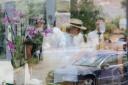 Dubrovnik 15.07.2012 – Jeremy Ironsa i Eminu Ganic docekao je direktor hotela Rixos Libertas JovoSekulovic
