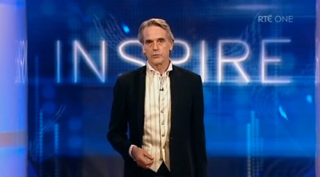 Jeremy Irons People of the Year Award
