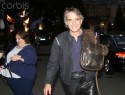 Jeremy Irons arrives at a black tie dinner at The City West Hotel in Dublin, Ireland