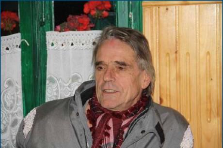 Jeremy Irons in Transylvania