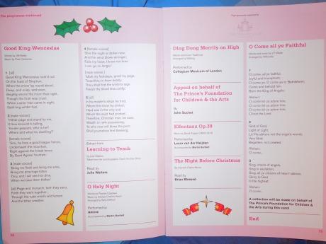 carol service programme 2