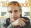 Cigar Aficionado Scan of Top of Cover