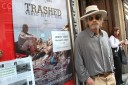 Jeremy Irons presents his documentary film 'Trashed' inFlorence