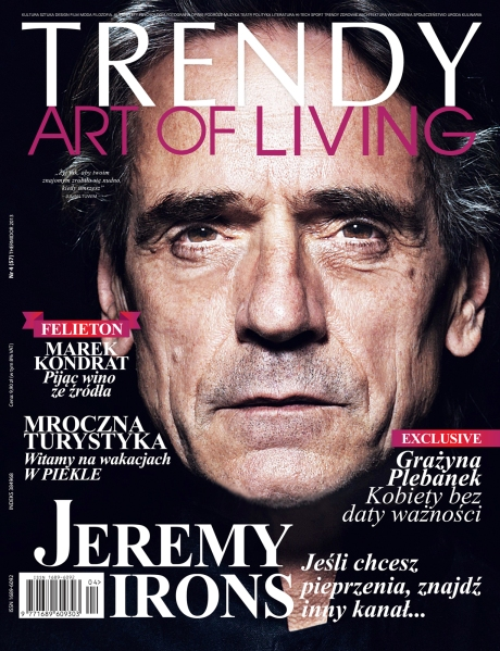 trendy art of living magazine cover 2013 large