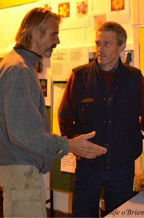 Jeremy Irons and Micheal Burke