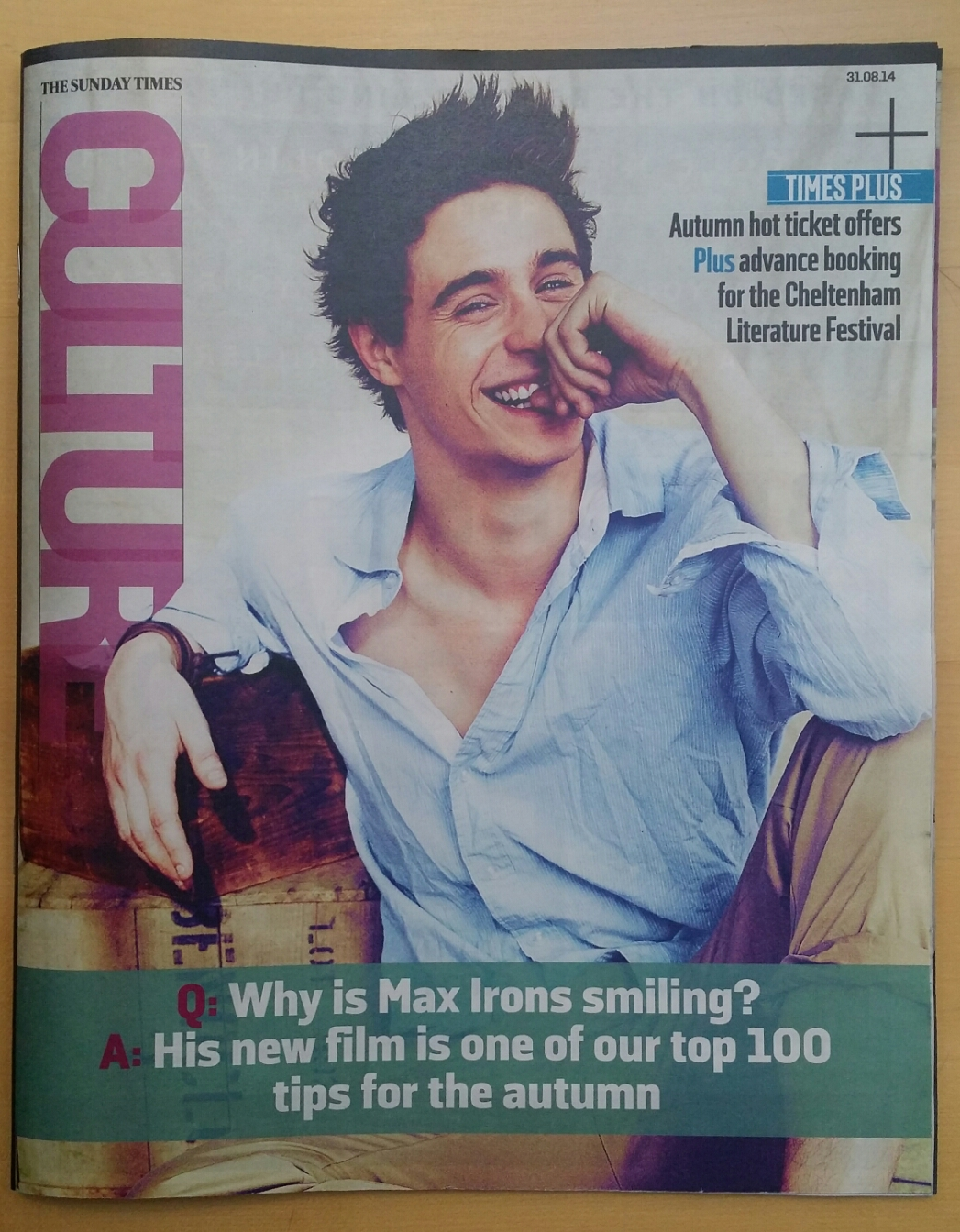 Max Sunday Times 1