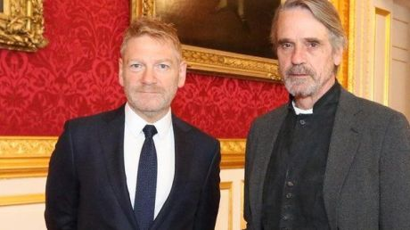 Kenneth Branagh and Jeremy Irons at St. James' Palace