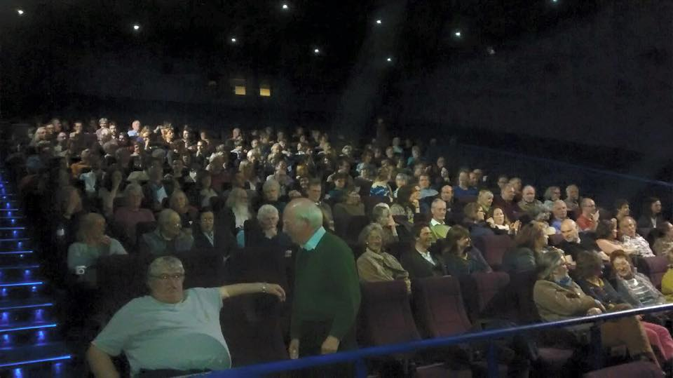 Full house at the VUE Cinema