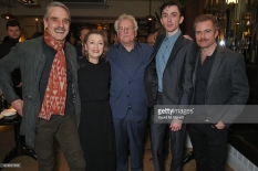 "attends the press night after party of ""Long Day's Journey Into Night"" at Browns on February 6, 2018 in London, England."