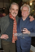 "LONDON, ENGLAND - FEBRUARY 06: Cast member Jeremy Irons (L) and Sir Richard Eyre attend the press night after party of ""Long Day's Journey Into Night"" at Browns on February 6, 2018 in London, England. (Photo by David M. Benett/Dave Benett/Getty Images)"