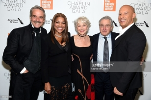 attends the 45th Chaplin Award Gala at the on April 30, 2018 in New York City.