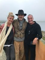 Jeremy with Christopher Hebard and his wife Astrid